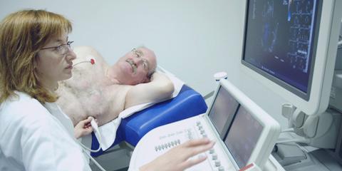 Kardiologe untersuchung